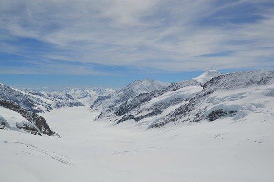 Jungfraujoch: На Юнгфрау