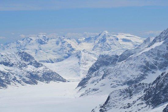 Jungfraujoch: горы