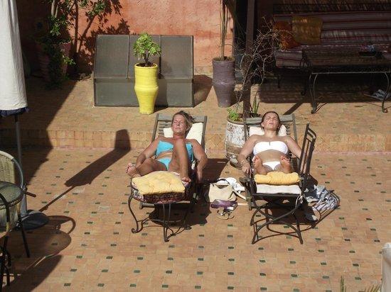 Riad Menthe et Citron : terrasse