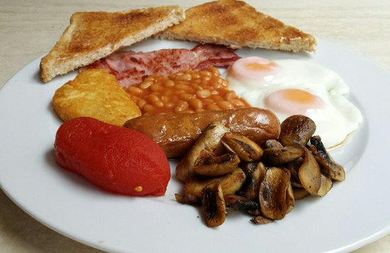 Olivers Restaurant: Full Monty ..... great value at € 4.90    Best breakfast in Salou @