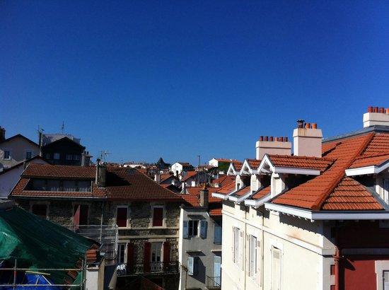Hotel Alcyon : Vista dal balcone della camera