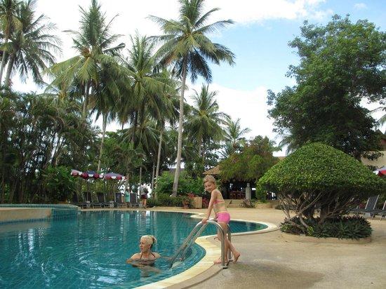 Fair House Beach Resort & Hotel: Basen przy domkach bungalow