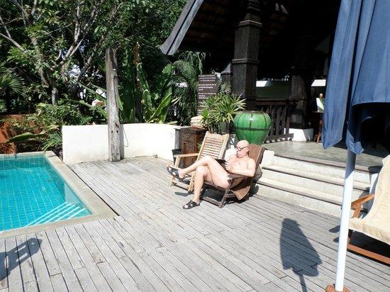 Rainforest Boutique: lekker aan het zwembad