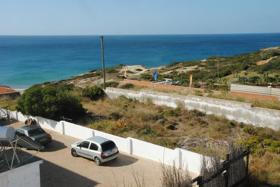 Mareta Beach Boutique Bed & Breakfast: Mareta beach hotel, view from room