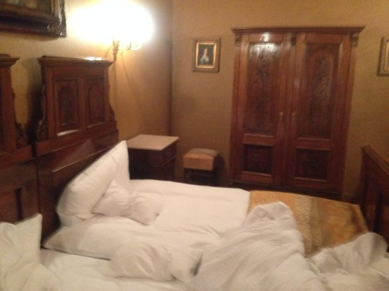 Am Ring Hotel: Blick ins Hotelzimmer