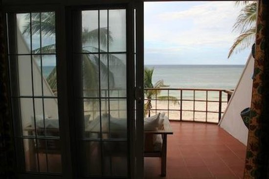 Dongwe Ocean View : Part of the view from our room.