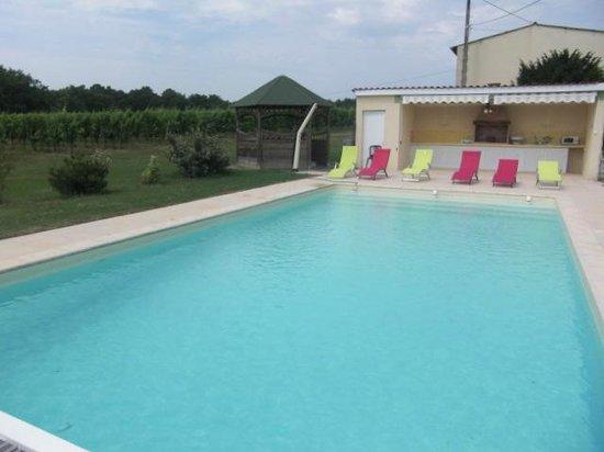Domaine de Grand Homme: La piscine