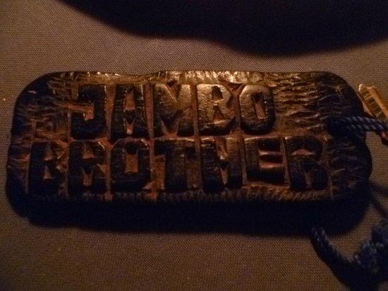 Jambo Brothers Bungalows: Sleutelhanger kamer