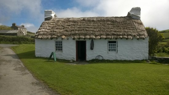 The National Folk Museum at Cregneash: another cottage