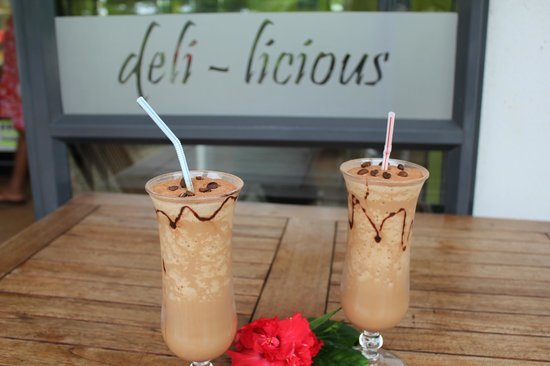 Deli-Licious Cafe Limited: Cool drinks