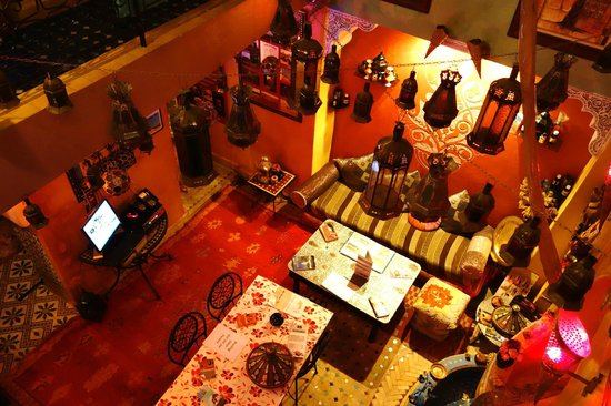 Riad Layla Rouge : receiption area
