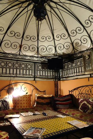 Riad Layla Rouge : roof 1
