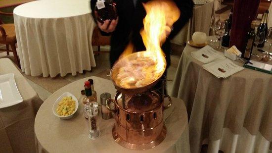 Ristorante Vignal: il gamberi del Gran piatto del Vignal fatti alla lampada