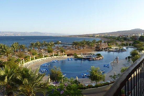 Mövenpick Resort Tala Bay Aqaba: Blick von Room Nr. 3138