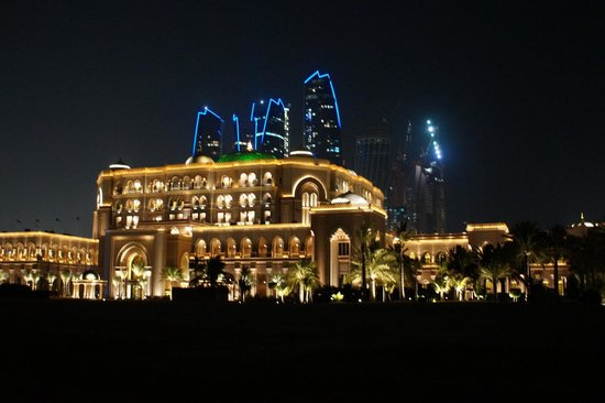 Emirates Palace : by night