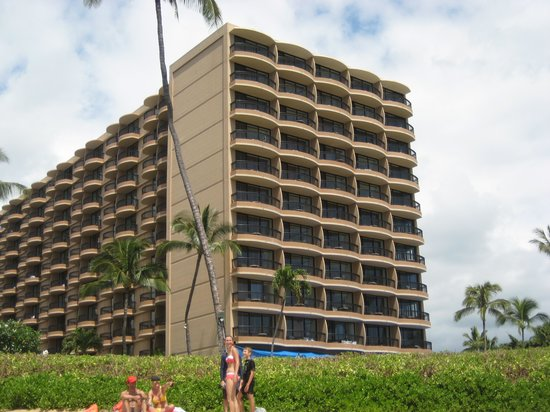 Royal Lahaina Resort: Hotel From Water