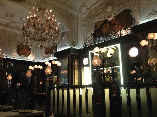 Brasserie Most : Speiseraum, Teilansicht