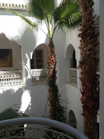Riad Vert Marrakech: vue de notre chambre