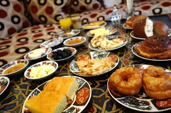 Dar Hafsa : very good breakfast