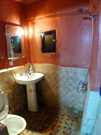 Dar Hafsa : very clean bathroom
