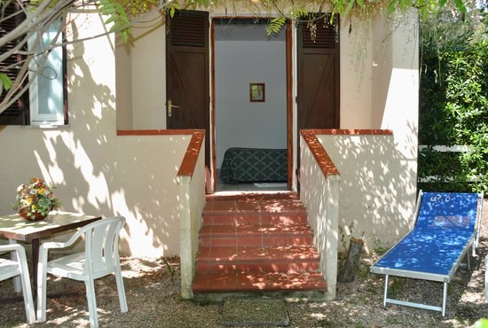Hotel Giardino: giardinetto privato
