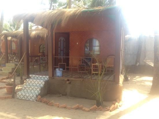 Om Sai Beach Huts: our hut