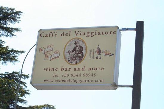 Caffe del Viaggiatore: Bonne bouteille