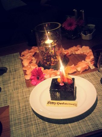 Mandarin Oriental, Kuala Lumpur: Our 6th anniversary, thank you so much for everything u made our day