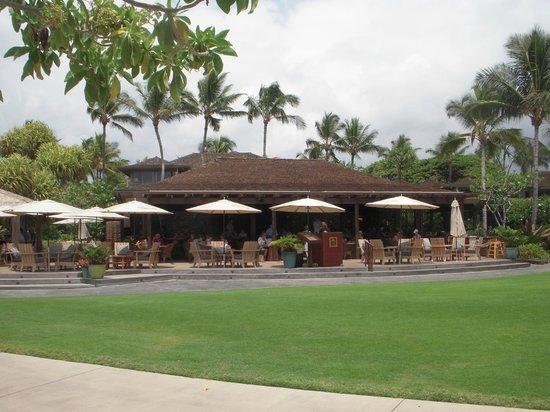Four Seasons Resort Hualalai: ホテルのレストラン「ビーチツリーバー&グリル」