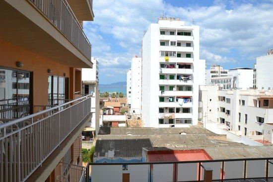 Hotel Caribbean Bay: Вид с балкона