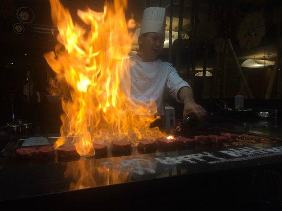 Sono Japanese Restaurant Portside Wharf : Sono Teppanyaki Bar
