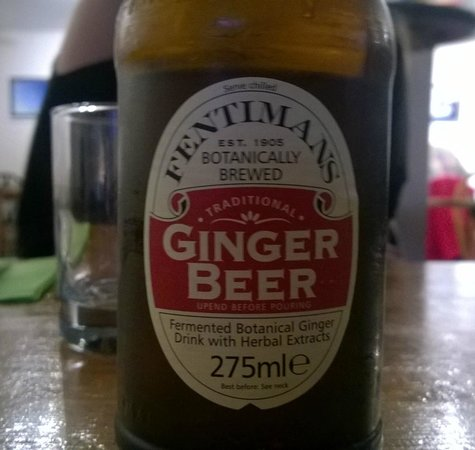 The Warehouse Cafe: ginger beer