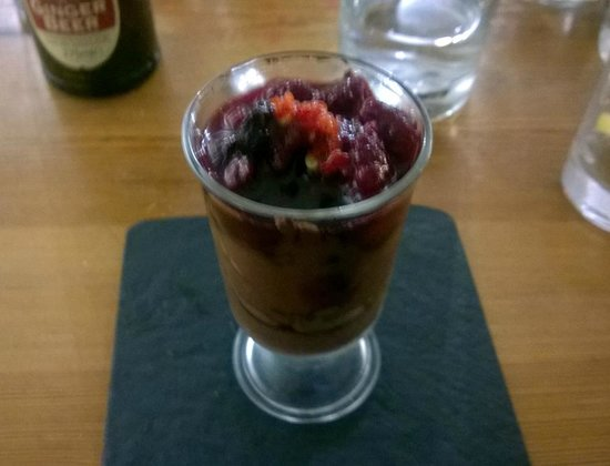 The Warehouse Cafe: Kreissler's pudding