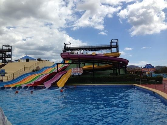 Club MAC Alcudia: water park