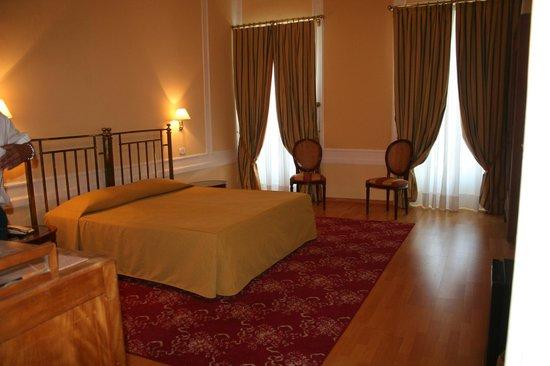 Grand Hotel Cadenabbia: la chambre