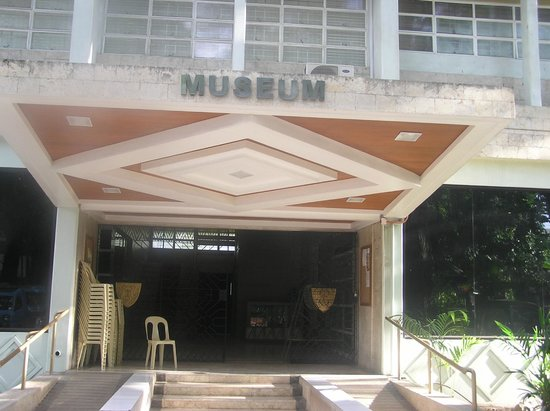 Xavier Museum: Entrance outside