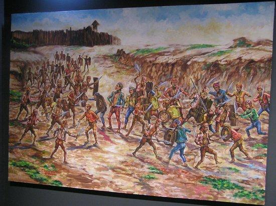 Xavier Museum: Battle scene
