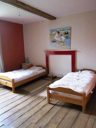 Evrehailles, Belgique : The double bedroom