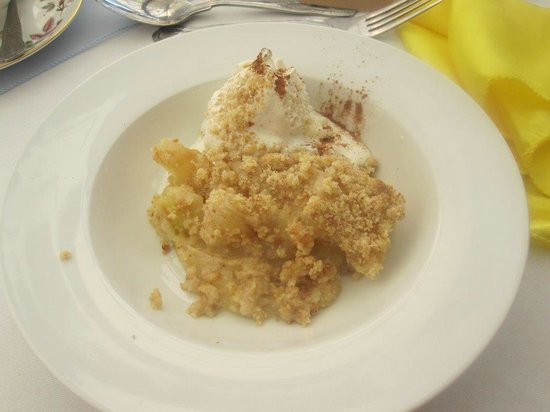 Badgers Mount Hotel: Dessert at the Wedding Breakfast