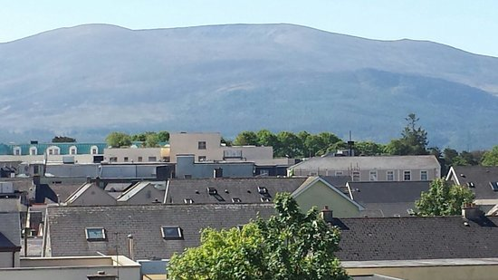 View from  our bedroom in Park Place Apartments Killarney