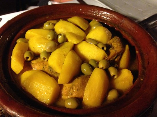 Riad Karmela : Our tagine dinner
