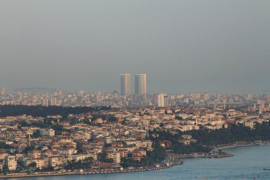 InterContinental Istanbul: View from City Lights
