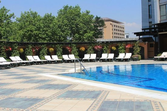 InterContinental Istanbul : Outdoor Pool