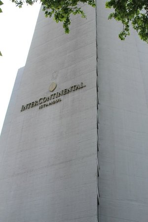 InterContinental Istanbul: Hotel exterior