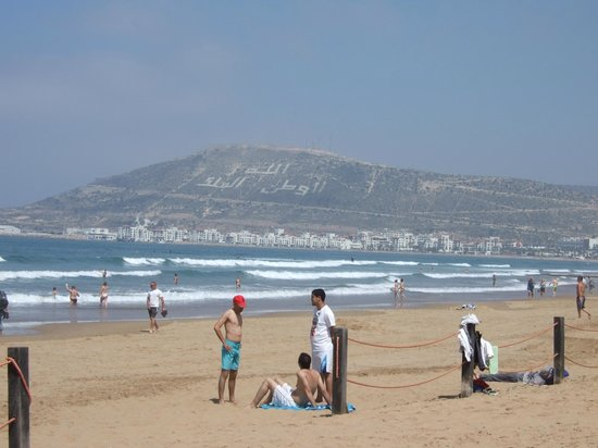 Hotel Riu Palace Tikida Agadir: la plage d'agadir
