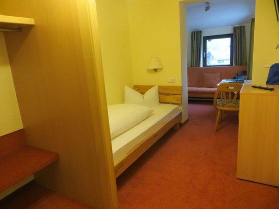 Hotel Waldmann : singl room