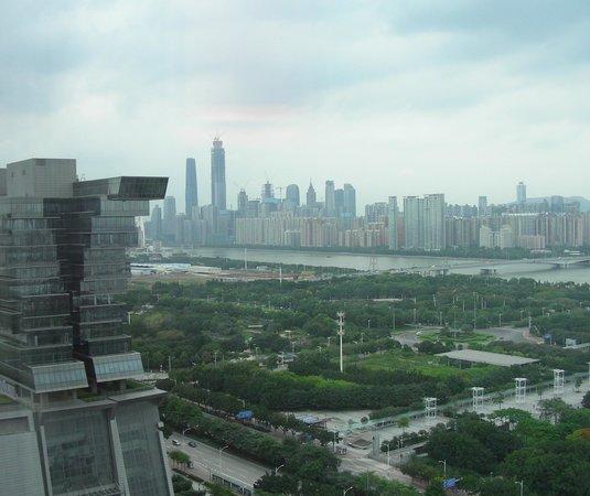 Langham Place Guangzhou : Vue depuis la chambre