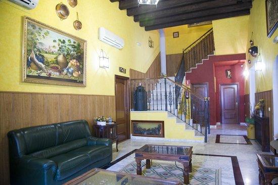 Hotel Rural Soterraña: Salón social