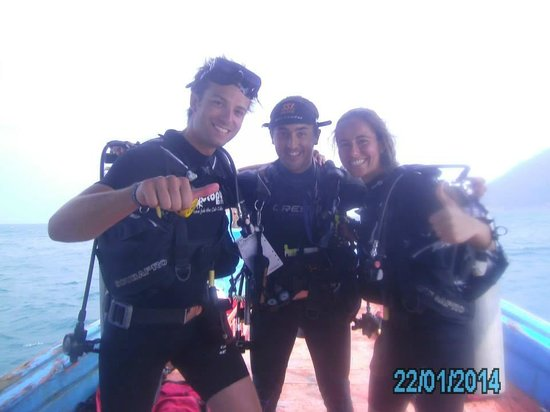 Roctopus Dive: Friends and me diving