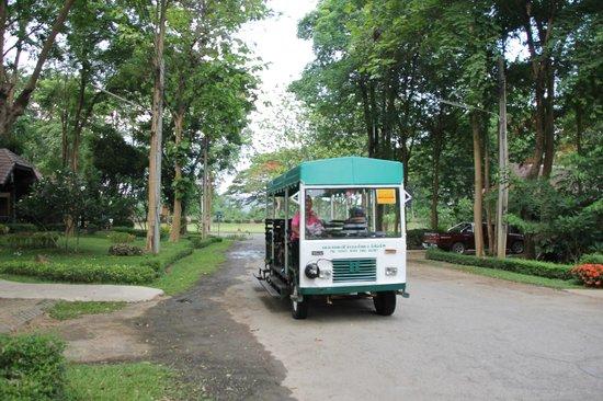 The Legacy River Kwai : le mini train à votre service